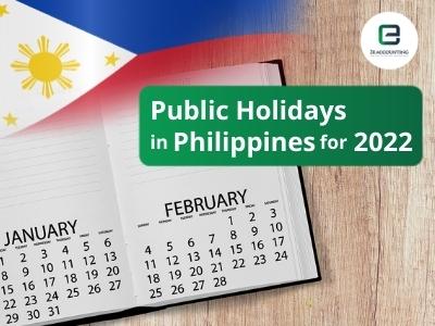 Philippines Public Holidays 2022